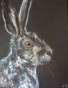 Original Hare Painting £35.00