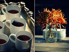 Fall campfire party inspiration