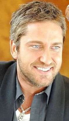 Gerard Butler...good gracious, look at those beautiful eyes.