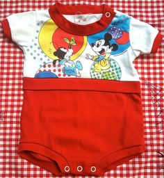 Just purchased! Vintage Mickey Mouse Onesie - $5!