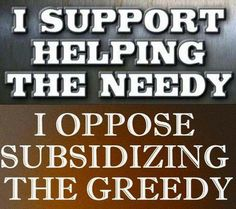 Stop corporate welfare!  Exxon and 30 other VERY profitable top earning businesses in our nation pay ZERO taxes!