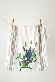 #Flower #Anthropologie Shop Dish Towel