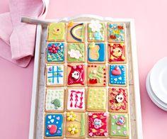 Butterkeks-Kuchen - Ein absoluter Hingucker für die Kaffeetafel mit Kindern