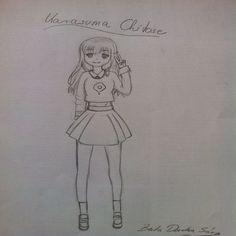 Karasume Chitose, Anime drawing. By: Dorotea Berta