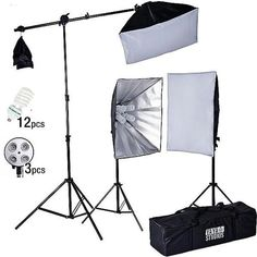 Softbox Photography, Flash Photography, Photography Equipment, Light Photography, Led Curtain Lights, Continuous Lighting, How To Memorize Things, Things To Sell, Backdrop Stand