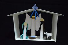 Crafting Marfa: My First Quilled Nativity