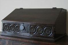 Antique 17th Century Slope Front Desk Box