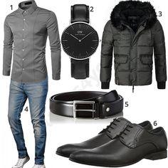 Herren-Style mit Hemd, Business-Schuhen und Uhr (m0979) #hemd #jeans #jacke #uhr #danielwellington #outfit #style #herrenmode #männermode #fashion #menswear #herren #männer #mode #menstyle #mensfashion #menswear #inspiration #cloth #ootd #herrenoutfit #männeroutfit
