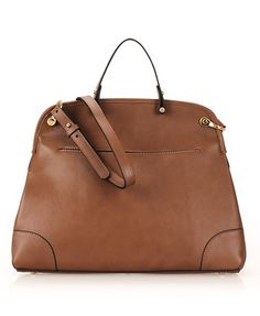 Gorgeous brown leather bag