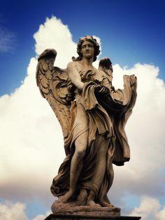 Angel at Castel Sant'Angelo... r3 | Flickr - Photo Sharing!