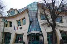 The wacky Monte Casino building in the popular Baltic coast resort town of Sopot, Pomorskie, Poland