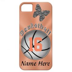 Pretty iPhone 5S Basketball Cases for Girls Women iPhone 5/5S Covers.  Basketball Stuff With many being Customizable with YOUR NAME and or NUMBER.  Tons more Custom and Personalized Basketball Gifts CLICK HERE: http://www.zazzle.com/littlelindapinda/gifts?cg=196808750908670951&rf=238147997806552929*/  ALL of Little Linda Pinda Designs CLICK HERE: http://www.Zazzle.com/LittleLindaPinda*/