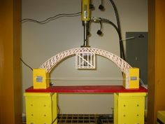 Load testing a bridge for a science project