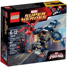 I just ordered this LEGO Super Heroes Carnage Shield Attack with Spiderman. Ultimate Spiderman Carnage, Lego Spiderman, Spiderman Spider, Superhero, Super Marvel, Marvel C, Lego Marvel Super Heroes, Marvel Memes, Lego City