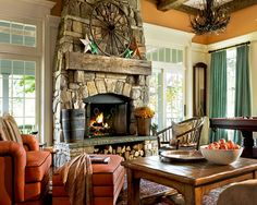 Fireplaces Design, Pictures, Remodel, Decor and Ideas - page 17
