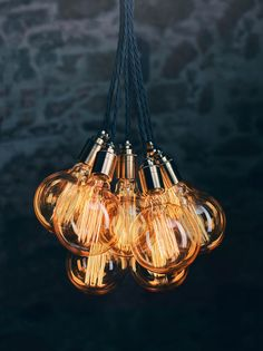 hängeleuchte - Another! The Loft, Bronze, Kugel, Light Bulb, Design Inspiration, Ceiling Lights, Led, Lighting, Home Decor