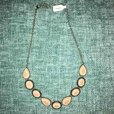 Silver Necklace W/Light Pink Stones - Mercari: Anyone can buy & sell
