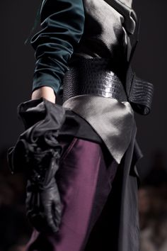 Haider Ackermann Fall 2011 - cant get enough of these colours!