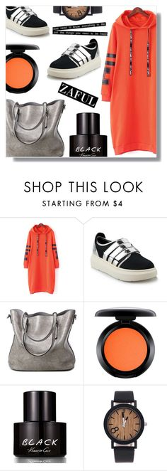 """""""Perfect match"""" by fashion-pol ❤ liked on Polyvore featuring MAC Cosmetics and Kenneth Cole"""
