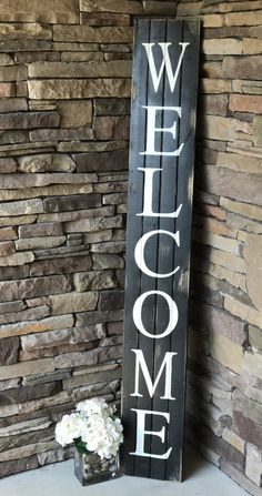 Welcome Sign Decor Best 30 Easy Diy Front Porch Sign Ideas For Your Home  Porch Pallets Review