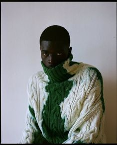Sheck Wes shows us 7 NYC locations that shaped 'Mudboy' Black Boys, Black Men, Mode Inspiration, Mode Style, Black People, Black Is Beautiful, Editorial Fashion, Knitwear, Fashion Photography