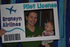 Photo 2 of 30: Airplanes & Clouds / Birthday Bransyn Airlines - Airplane Party | Catch My Party