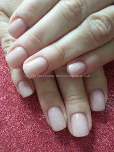 Secrets nude acrylic nails