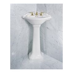 Corner Bathroom Sinks For Small Spaces The St Thomas Creations Barrymore Corner Pedestal Lavatory