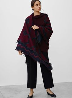 5ccbeb1a8d4f8 Wilfred DIAMOND MOSAIC BLANKET SCARF | Aritzia Blanket Scarf, Who What  Wear, Mosaic Patterns