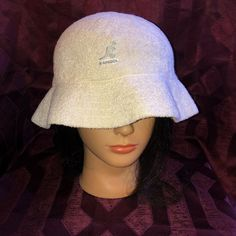 265ba2a3465ba6 Kangol Bermuda Casual Bucket Hat White. Large. Preowned #fashion #clothing  #shoes