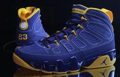 b99b99b4b74559 Where To Buy Original Youth Big Boys Air Jordan Air Jordan 9 Big Boys Shoe Retro  Calvin Bailey Taupe Yellow Dark Royal Blue Wholesale