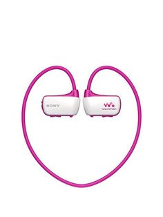 Sony NWZ-W273S Waterproof Sports Walkman/headphones- Pink | very.co.uk