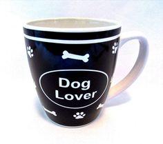 Dog Lover Coffee Cup Stoneware Mug 20 oz  #GreatGatherings
