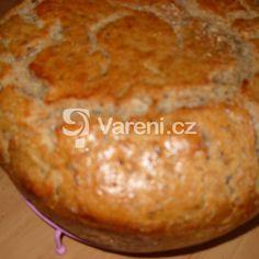 Chléb z žitného kvásku recept - Vareni.cz Muffin, Bread, Breakfast, Food, Meal, Brot, Eten, Breads, Meals