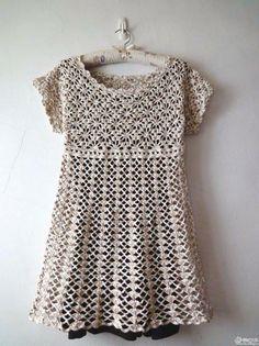 vestido+tejido+crochet.jpg (599×800)