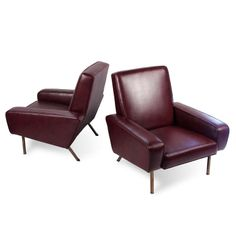 Airborne by Pierre Guariche, Pair of Armchairs | From a unique collection of antique and modern club chairs at http://www.1stdibs.com/furniture/seating/club-chairs/