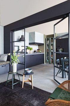 Стеклянные перегородки с металлическим профилем - Дизайн интерьеров | Идеи вашего дома | Lodgers