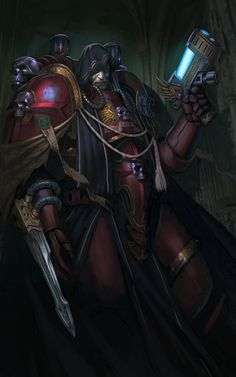 Well, some more love for this relatively unknown Chapter, descended from the noble lineage of the Blood Angels.
