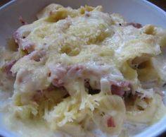 Rezept Tortellini Schinken-Käse-Sahne Auflauf von Sylvia Rist - Rezept der Kategorie sonstige Hauptgerichte