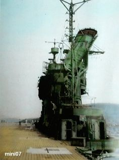 """IJN aircraft carrier """"Jyunyo"""" island structure tower! 470×629ピクセル"""