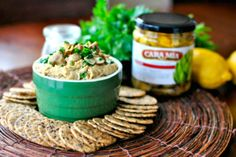 Grilled Artichoke Hummus by Simple Scratch