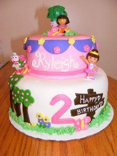 Dora Birthday By DanisMom on CakeCentral.com