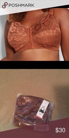 7383bcc247 Posture Bra Full Coverage Lace Posture Bra Size 40 DDD Ashley Stewart  Intimates   Sleepwear Bras