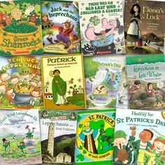 Great St. Patrick's day read-alouds and mentor texts!