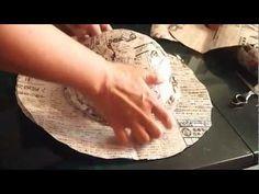 How to make a big Paper Hat part 1 Newspaper Hat, Recycle Newspaper, Newspaper Crafts, Recycled Dress, Hat Tutorial, Crazy Hats, Diy Resin Crafts, Diy Hat, Wet Felting