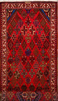 """Maymeh Persian Rug, Buy Handmade Maymeh Persian Rug 3' 11"""" x 12' 11"""", Authentic Persian Rug"""