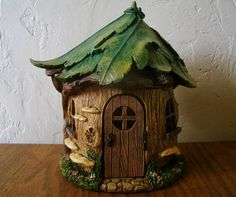 Forest House - Fairy House - Fairy Garden - Nature - Woodland - Miniature Gardening