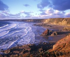 Marloes Sands, Pembrokeshire National Park, Wales.  My ancestors lived along this rocky coastline.