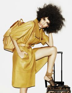 Cora Emmanuel photographed by Matt Irwin for Vogue Russia March 2013