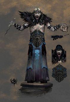 Zealot- Warhammer concept art
